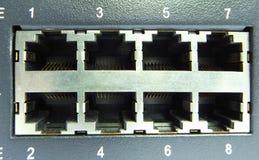 电缆插孔 库存照片