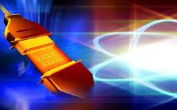 电缆数据调用usb的次幂technolog 免版税库存照片