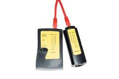 电缆测试人员 免版税库存图片