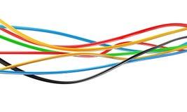 电缆电汇电汇 皇族释放例证
