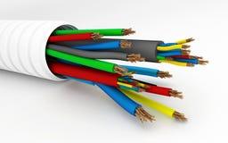 电缆电汇 库存照片