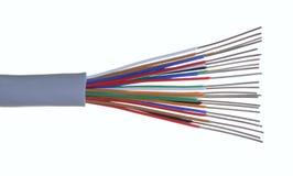 电缆电话 免版税库存图片