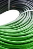 电缆绿色一束网络 免版税库存照片