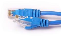 电缆计算机网络 免版税库存照片