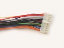 电缆计算机 免版税库存图片