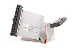 电缆计算机fdd 免版税库存照片