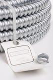 电缆输送管道保护 免版税图库摄影