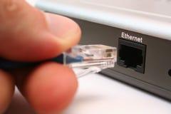 电缆连接 库存照片