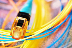 电缆colorfull 库存图片