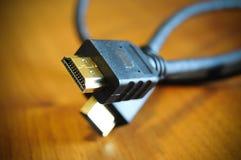 电缆hdmi 库存照片
