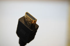 电缆hdmi 免版税图库摄影