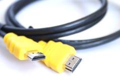 电缆hdmi 免版税库存照片