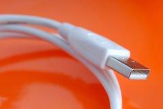 电缆usb 库存图片