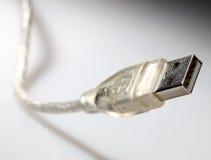 电缆usb 免版税库存照片
