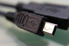 电缆usb 免版税库存图片