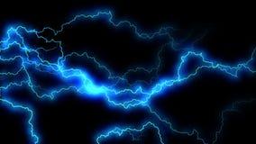 电脆皮 与电弧的抽象背景 现实雷击 与闪动的雷暴 皇族释放例证