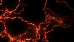 电脆皮 与电弧的抽象背景 现实雷击 电和磁场 向量例证