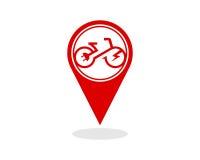 电自行车模板传染媒介 免版税库存图片