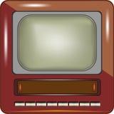 电视传染媒介eps8 免版税库存照片