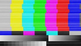 电视信号样式对于测试目的 库存例证