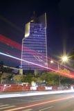 电视台amoy城市夜视域  库存图片
