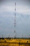 电视和无线电铁塔 免版税库存图片