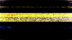 电视噪声0737 免版税库存图片