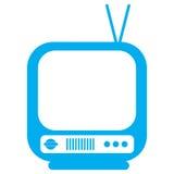 电视图标 向量例证