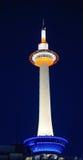 电视塔在京都,日本 免版税库存图片