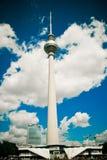 电视塔在柏林,德国 免版税库存图片