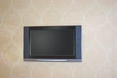 电视墙壁 免版税库存照片