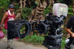 电视摄象机 免版税图库摄影