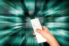 电视生产概念 电视电影盘区 免版税库存图片