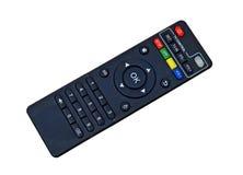 电视电视遥控隔绝与PNG文件 免版税库存图片