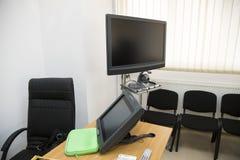 电视电话会议室 免版税库存照片