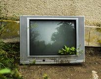 电视的末端 图库摄影