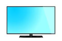 电视监测图表 免版税库存图片