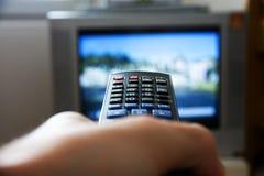 电视遥控 免版税图库摄影