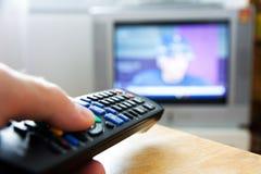 电视遥控 免版税库存照片