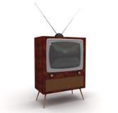 电视 库存例证