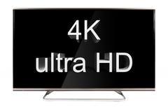 电视-4K 免版税库存图片