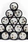 电解的电容器 库存照片