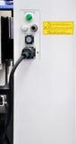 电设备制造 免版税库存照片