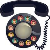 电话会议 库存图片