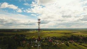 电话信号塔 股票视频