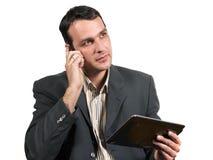 电话和片剂 免版税库存照片