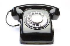 电话在白色背景中 库存照片