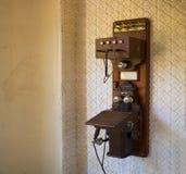 电话在Monserrate宫殿是一栋异乎寻常的宏伟的别墅和gardenlocated在辛特拉,葡萄牙, 库存照片