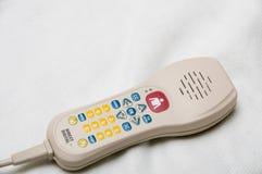 电话控制护士遥控 免版税库存照片