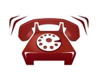 电话敲响 免版税库存图片